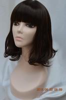 HOT sale! High Quality upper-body Fiberglass model black women female Mannequin Head / practise head / training head for wigs