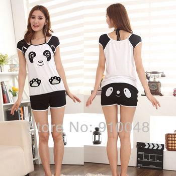 new 2014 women cute bear modal pajama sets / pijama / women sleepwear / pajamas for women
