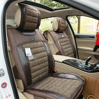 2014 New fashion linen car seat covers for Nissan bluebird gray, beige, coffee (5 seat/set) 0388