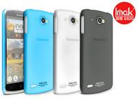 Genuine Imak Water-jade Series translucent Hard Case Skin Back Cover + Screen Protector For Lenovo S920