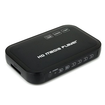 3D Full HD 1080P USB External HDD Media Player with HDMI VGA SD Support MKV H.264 RMVB WMV Free Shipping