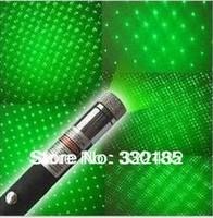 Free shipping 532NM 100mw star laser pen Green Laser Pointers, green laser pen star pen green light multifunctional