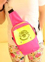 2013 candy bag color block chest pack women's handbag one shoulder cross-body small bags mini messenger bag