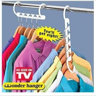 Wonder hanger multifunctional clothes hanger magic hanger(China (Mainland))