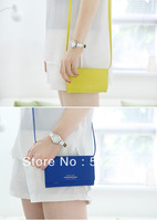 100PC/Lot DHL Free New Arrival DEGAGE Fashion Korea wallet For Galaxy S4 S3 S2 For iphone 5G 4G with card holder and straps
