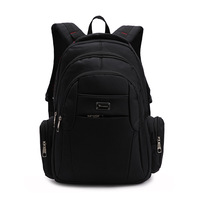 Commercial laptop backpack male bag travel backpack female bag student school bag preppy style