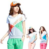 2013 women's casual set summer sports set sportswear