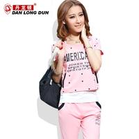 2013 sports set fashionable casual Women sweatshirt sportswear women's