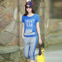 2013 women's casual set summer fashion sportswear set Women