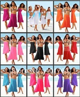 Free shipping New women's beach dress swimwear dress Sexy Wrap dress Skirts elegant fashion pure beach dress Three kinds of worn