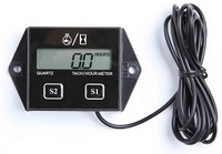 Hour meter tachometer tach digital LCD KTM atv motorcycle dual sport dirt bike