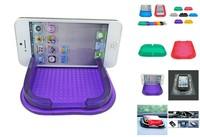 car Anti Slip pad PU gel  Mobile Phone Shelf Antislip Mat iphone stand mobile phone holder car mount