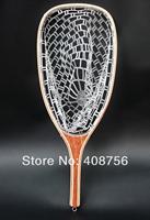 Fly Fishing Landing Net Stream side Stream Trout Net Rubber Net Catch and Release