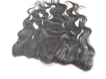 "Virgin Brazilian Lace Frontal Closure 13x4"" Bleached Knots Virgin Frontal Piece Body Wave Full Lace Frontal Brazilian Wavy"