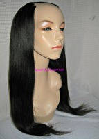 machine made beauty queen hair malaysian virgin human hair u part wig silky straight for black women free shipping