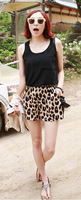 Sexy Leopard Shorts classic animal print shorts summer hot pants  2 pcs discount 5%