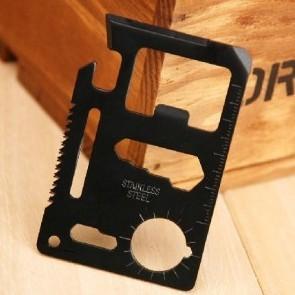 B 2pcs/lot  Function Knife Card Pocket Survival Tool  Multipurpose  OutdoorSurvival Multifunction Knife