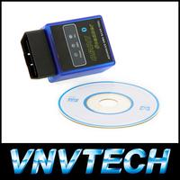 New ELM327 V1.5 Mini Bluetooth ELM 327 OBDII OBD-II OBD2 Protocols Auto Diagnostic Tool free shipping Wholesale