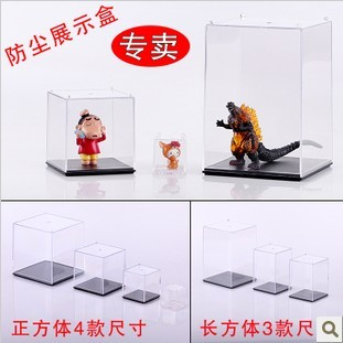 Acrylic box model of the minis decoration hand-done doll anime toys transparent dust box