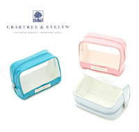 Free Shipping! (2 pieces/lot)  2013 summer new multicolor waterproof women wash bags fashion zipper cosmetic bag brand