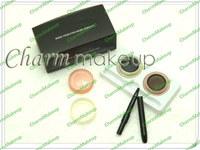 Free Shipping New Makeup 2 Colors DOUBLE FLUIO Eyeliner Gel,Black / Brown (2 pcs/lots)2pcs