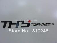 Customized die cut logo sticker label