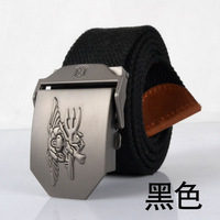 Fashion new arrival lengthen thickening casual canvas belt male belt