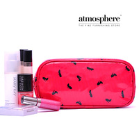 Free Shipping! (3 pieces/lot) summer waterproof women beauty cosmetic box high quality cosmetic bag