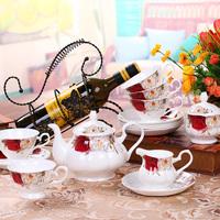 Fashion ceramics superior quality 15 bone china coffee set,free shipping