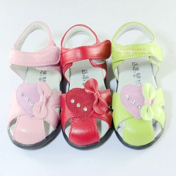 free shipping Heart flower rhinestone female child 1 sheepskin baby shoes female child  3 2 princess shoes  sandals
