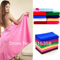 10 COLORS Ultrafine Bamboo Fibre Bath Towel Soft Adult Child Super Absorbent Thicken Towels 70*140cm
