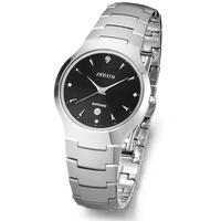 Watch pure tungsten steel quartz watch waterproof male watch fashion table fashion men's inveted