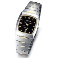 Watch waterproof fashion tungsten steel quartz watch ultra-thin male watch men's fashion table