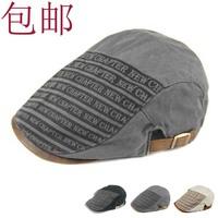 mix order retail free shipping - Intellectuality welshwomen elegant cowhide male cap beret hat fashion cap