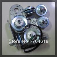 """12% discount  high performance ATV quad 4x4 Clutches TAV2 30 Torque Converter 10 teeth 3/4"""" bore #40/41 chain 2-7 hp engines"""