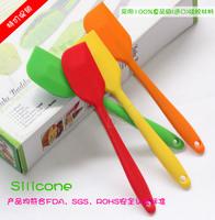 Hot integral one-piece silicone spatula scraper spatula bakeware temperature free shipping