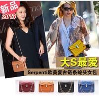 Serpenti chain enamel  bags one shoulder cross-body women's handbag  free shipping