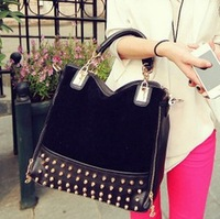 New style england style fashion leather ladies shoulder bag popular shopping bag cheap bagfactory sale SK231