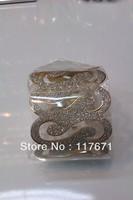 Fashion Jewelry  ,Alloy bracelet, HJ-006 rose gold, diamond paste paper buckle bracelet, lady's favorite