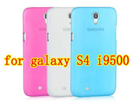 50pcs/lot free ship for samsung galaxy S4 i9500 case Ultra thin 0.5mm matte crystal case back cover,hard case for galaxy SIV