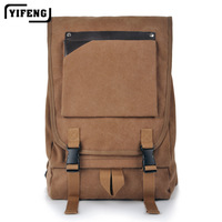 2013 brand fashion desiger vintage canvas men 15 inch laptop bag travel sports backpacks for men, wholesale,free shipping YF9005
