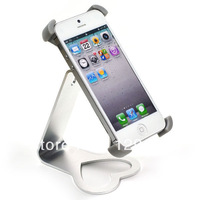 360 degree Rotation Detachable Aluminum Alloy Holder Stand Mount Bracket for iPhone 5