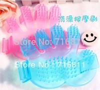 Pet Dog Cat Grooming Bath Massage Glove Brush comb,Bath rubber pet brush comb, Dog Grooming