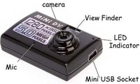 Free shipping hot mini DV camera 5 mp minimum hd video cameras to land