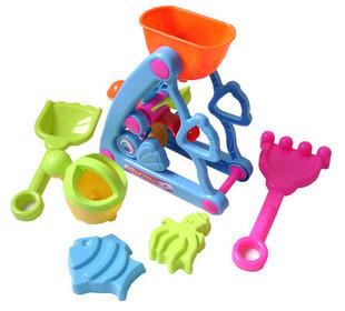 3c baby beach toys water sand summer beach waterwheel hourglass(China (Mainland))