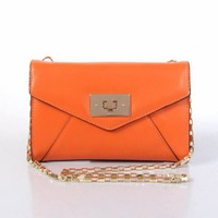 free shipping 2013 lady brand messenger bag cross-body shoulder bag 3637 cowhide 2 colors - MOQ1
