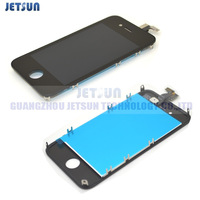 100pcs For iPhone 4 4G LCD digtizer touch display screen assembly glass replacement white and black  Free shipping by DHL