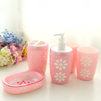 At home bathroom set five pieces set bathroom supplies toiletries set 33884