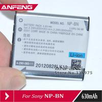 2pcs New NP-BN NP-BN1 Li-ion Battery 3.6V FOR SONY DSC-TX55 TX66 TX200 TX300 WX70 WX100 W610, Free shipping