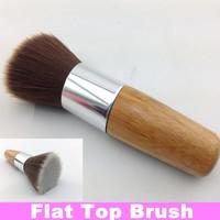 Flat Top Buffer Foundation Powder Cosmetic Salon Makeup Brush Basic Brush + Free Shipping